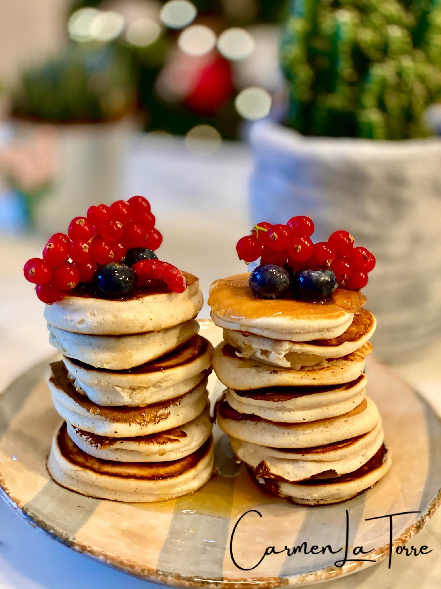 pancakes proteici